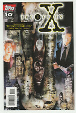 X-FILES  ISSUE # 10                                          TOPPS COMICS   1995