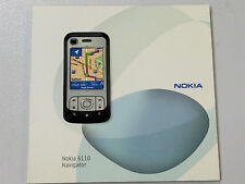 CD contains Useful Software and Information on Nokia 6110 Navigator