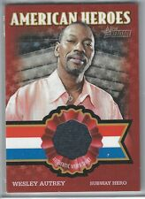 Topps American Heritage Relic Card AHR-WA Wesley Autry Subway Hero GPC