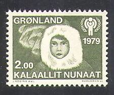 Greenland 1979 IYC/Children/Animation/Aurora/Welfare/UN 1v (n37755)