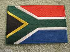 South Africa Flag Patch National Colors South Africa Embroidered Patch