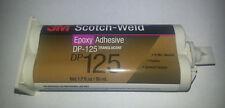 3M DP125 Translucent  2-Part Epoxy, 50mL Duo-Pak Cartridge, 25Min worklife