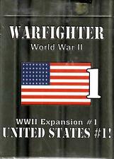Dan Verssen Games DVG Warfighter WWII Expansion #1 United States #1Card Deck New