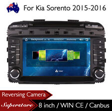 "8"" Car DVD Nav GPS Touch Screen Radio Stereo For Kia Sorento 2015-2016"