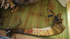 Vintage Native American Dance Stick Made from Deer Jaw Ceremony Regalia