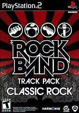 Rock Band Track Pack Classic Rock Sony PlayStation 2, 2009 BLACK LABEL PS2