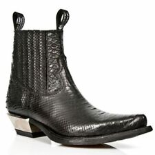 New Rock Chelsea, Ankle Boots Slip On Shoes for Men
