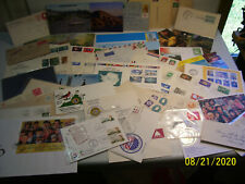 Postal Estate Lot of Assorted Mixed Ww & Us Postal Covers,Postal Cards & Stamps