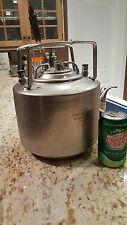 6L Stainless Steel Ball Lock Corny Beer Keg 1.58 US gallon