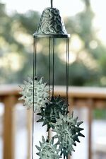 New listing Spi Home Brass Sun Wind Chime Sunburst Garden Windchime Sun Face