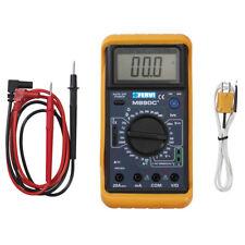 Fervi Cod. T050 Multimetro Digitale Con Sonda Per Misurazione Temperatura