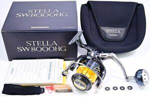 Shimano Stella SW8000HG Spinning Reel 8000 SW HG Excellent