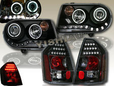 05 06 07 CHRYSLER 300C & SRT8 LED CCFL HALO PROJECTOR HEADLIGHTS+LED TAIL LIGHTS