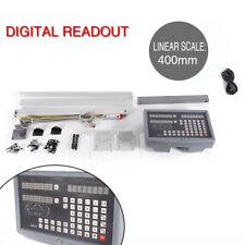 Digital Readout Milling Lathe Machine 2 Axis Dro Kit Precision Ttl Linear Scale