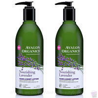 Avalon Organics NOURISHING LAVENDER Hand And Body Lotion PACK OF 2