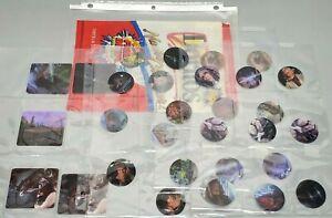 1997 STAR WARS ~ Doritos EXCLUSIVE Lenticular 3D Discs ~ Set of 32 POGS, CARDS