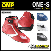 SALE! IC/801 OMP ONE-S RACE FIREPROOF BOOTS TOP LEVEL RACING RALLY MADE IN ITALY