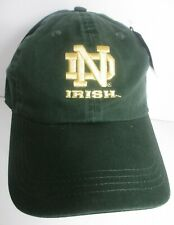 Notre Dame Hat Ball Cap Strapback Embroidered NCAA University Prefade