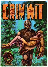 GRIM WIT #1 1973 RICHARD Gore CORBEN 2nd PRINT Last Gasp Underground Comic Comix