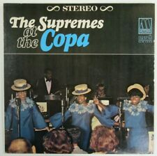 Vintage Vinyl LP The Supremes at the Copa Motown Records MS636 Stereo Live VG