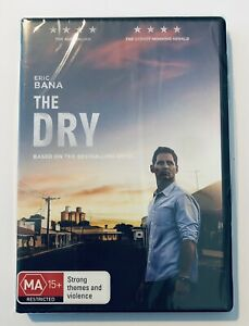 The Dry (DVD, 2021) NEW & SEALED** Movie 🍿 Rated MA15+ Region 4 Aus Eric Bana