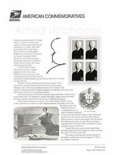 #547 32c Alfred Hitchcock #3226 USPS Commemorative Stamp Panel