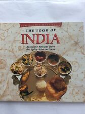 Cookery - The Food of India - Authentic Recipes from the Spicy Subcontinent