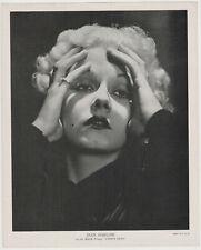 Jean Harlow 1935 R95 8x10 Linen Textured Printed Photo - Vintage Premium