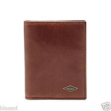 Fossil Original ML3730201 Brown RFID Ryan Card Case Bifold Leather Men's Wallet