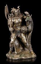Loki Figur mit Drache - Nordischer Gott Wikinger Statue Veronese Deko