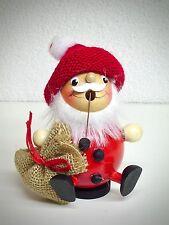 Mini Fumador FIGURA MADERA FIGURA DE BOLA Papá Noel con tapa 11cm 40526