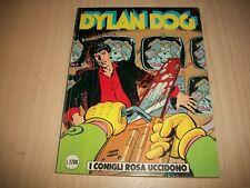 DYLAN DOG PRIMA SERIE ORIGINALE: N.24 CONIGLI ROSA UCCIDONO.BONELLI SETTEMBRE'88