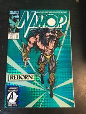 """Namor#37 Awesome Condition 8.0(1993) """"Reborn"""" Foil Cover!!"""