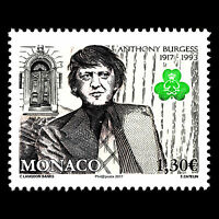 "Monaco 2017 - Birth of Anthony Burgess ""1917-1933"" Writer Art - MNH"