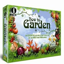 HOW TO GARDEN NEW 6 DVD GIFT SET COLLECTION TOP TIPS SMALL GARDENS CONTAINERS