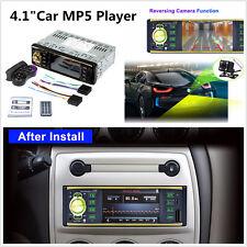 12V 1DIN Car MP3 MP5 Player Bluetooth Stereo Radio+Steering Wheel Remote Control