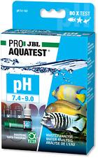 JBL PROAQUATEST pH 7.4-9.0 Test Set Teich Süßwasser Meerwasser Aquarien Analyse
