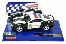 Chevrolet Camaro Sheriff Carrera Digital 1:32 Scale Slot Car 20030756