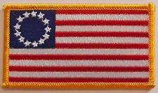 New Betsy Ross Patch - Patriot - American Revolution Vest Patch - 13 Stars