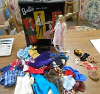 Barbie Skipper 1963 Doll 1961 Case 40+ Items Vintage Clothing Halloween Costume