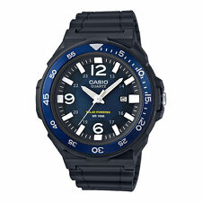 Casio Solar Powered Analog Watch, Resin, 100 Meter, Date,  MRWS310H-2BV