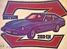 Original Vintage Datsun 280 Zx Iron On Transfer Glitter Nissan Muscle