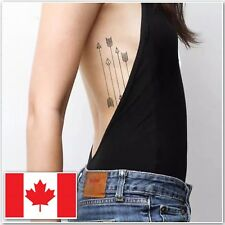 Fashion Arrow Waterproof Tattoo Removable Temporary Tattoo Sticker