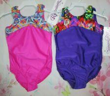 Leotards New Girls Size 4-6 Xs Dance Gymnastics Lot of 2 Child Pink Reflectionz
