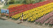 BNIB OO / HO BUSCH 1206 120 TULIPS KIT - FLOWERS / PLANTS