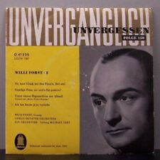 "(o) Willi Forst I - Unvergänglich - Unvergessen Folge 150 (7"" EP)"