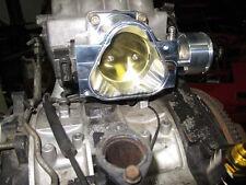 CXRacing CNC Cut Billet Aluminum Throttle Body For Mazda 86-91 RX7 FC 80mm
