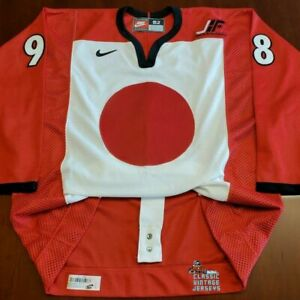 Japan Vintage Nike Authentic Jersey 1998 Nagano Olympics