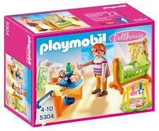 Playmobil Dollhouse - Habitación del bebé con cuna. Referencia. 5304