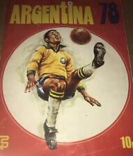 FKS ARGENTINA 78 WORLD CUP STICKER ALBUM - Complete